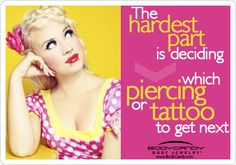 The hardest part is deciding which #piercing and #tattoo to get next www.bodycandy.com