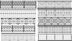 Collection of fences