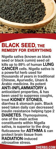 Nigella sativa (black seed) seed oil kills up to of lung cancer cells. It is a powerful herb used for of years in traditional Chinese, Ayurvedic, Unani & Arabic medicine. Its potent anti-inflammatory & antioxidant properties. Black seed taken Arthritis Remedies, Herbal Remedies, Health Remedies, Home Remedies, Natural Remedies, Arthritis Hands, Nigella Sativa, Nigella Seeds, Cancer Cure