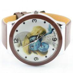 Stylish brown triazolam watch