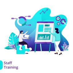 Iconscout.com provides high-quality Premium Landing Page Staff Training Illustration Illustration that can be used in all designing software like Photoshop, Illustrator, Adobe XD and Sketch for [object Object] related content in all formats. Finance Bank, Staff Training, Adobe Xd, Photoshop Illustrator, Vector Format, Icon Pack, Photo Illustration, Mobile App, Free Design