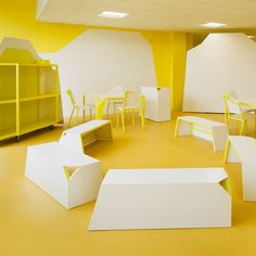 Matali Crasset completes dessert-themed common room for French culinary school