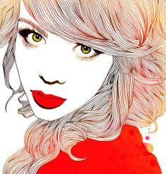 Hajin Bae #illustration #painting #drawing