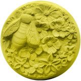 Round Bee Blossom Soap Mold | The Essential Oil Company
