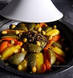 Tajine au poulet et légumes - Recettes by Hanane
