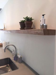 Floating Shelves, Sweet Home, Sink, House Styles, Inspiration, Shelf, Home Decor, Decoration, Accessories