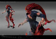 Concept de creature 3D