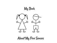 Five Senses Book Printable Freebie