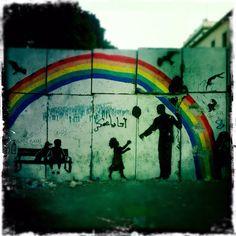 Ningún muro se interpondrá entre nosotros. Centro de El Cairo postrevolución. #graffitti #egipto