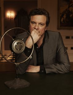 Colin Firth - to rest his chin in his hand