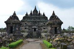 Plaosan Temple, (Buddhist Temple) Central Java, Indonesia