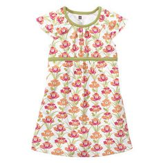 Tea Collection Iris Flutter Sleeve banded Dress in color milk from Korea 2010 org price $27