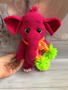 Everything about Amigurumi knitting toys is waiting for you on this site. In our article we will show you 50 amigurumi crochet free patterns. Crochet Elephant Pattern, Crochet Teddy Bear Pattern, Crochet Patterns Amigurumi, Crochet Baby, Crochet Stitches, Free Crochet, Amigurumi Elephant, Amigurumi Doll, Christmas Elephant