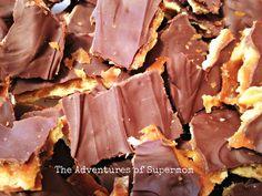 Saltine Chocolate Toffee Bark