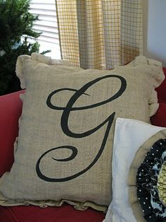 I love anything with a monogram.