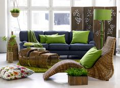 Motivation Monday | Seahawks Blue + Green Living Room   Stylyze |  Decorating Ideas | Pinterest | Green Living Rooms, Seahawks And Blue Green