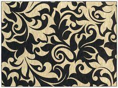 AreaRug Corinth - 3VE57 - Black - Flooring by Shaw