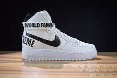 86d4dd79827ff NIKE AIR FORCE 1 HIGH SUPREME SP 698696-100 White 36-45