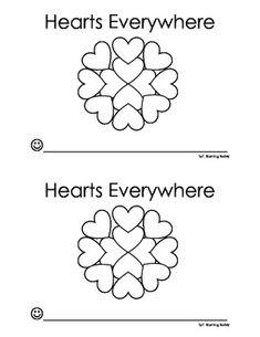 Hearts Everywhere Emergent Reader
