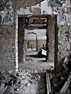 Rotina Tensa!: Lugares abandonados.