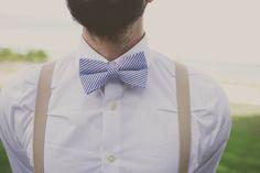 Soie Blanche Smoking Suspenders