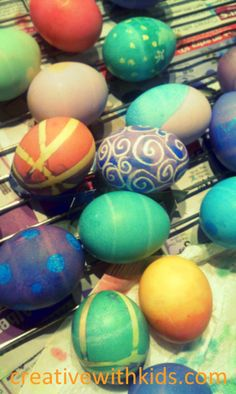 3 SIMPLE ways to dye Easter eggs that come out looking great