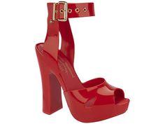 Vivienne Westwood Anglomania + Melissa Slave Sandal (Vermelha)