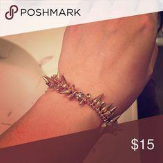 Stella & Dot Renegade Cluster Bracelet Still in great shape! Authentic Stella & Dot Stella & Dot Jewelry Bracelets