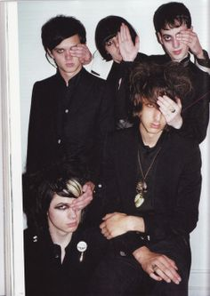 tbt: it's 2007 and we just met the horrors for the first time Beatnik, Emo Scene, Indie Music, Lomography, Psychobilly, Rock N Roll, First Time, Monochrome, Horror