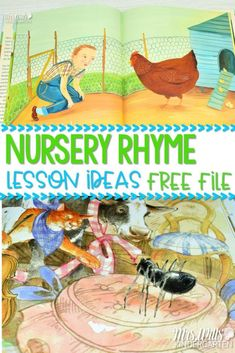 Nursery Rhyme Lesson