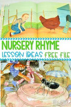 Nursery Rhyme Lesson