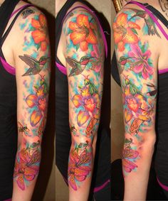 tattoo arm colors manga zimg tattoos on the arm for women online trend ...