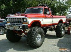 Big Ford Trucks, 1979 Ford Truck, Classic Ford Trucks, Ford 4x4, Jeep Truck, 4x4 Trucks, Lifted Trucks, Cool Trucks, Chevy Trucks