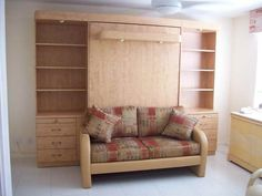 couch murphy beds | Sofa Murphy Bed: Murphy Bed Sofa With White Ceramic Floor ...