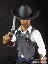 1//6 Scale Toy Jonah Hex Grey Molded Civil War Cowboy Hat