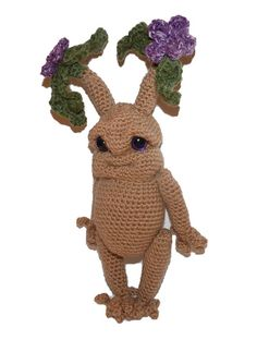 "Mandrake Seedling ""Flora"" Crochet Plush Toy by SpecialtyShoppe"