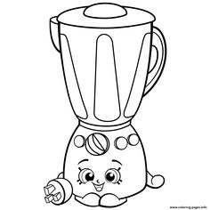 Print Cookie shopkins season 1 coloring pages colouring