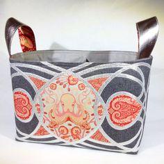 Tula Pink - Saltwater divided basket  #pintowintula