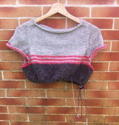 Ravelry: Project Gallery for Textured jumper with stripes pattern by Isabell Kraemer