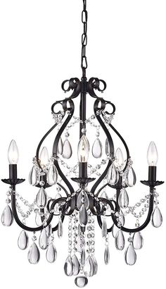 Check CHANDELIER Edvivi Amorette Antique Black Crystal Chandelier Ceiling Fixtu Ceiling ideas This beautiful candle style chandelier is the perfect solution for your dining room or living room. It has elegant antiq. Small Bathroom Chandelier, Chandelier In Living Room, Antique Chandelier, Black Chandelier, Chandeliers, Chandelier Ideas, Candle Chandelier, Dining Room Light Fixtures, Dining Room Lighting