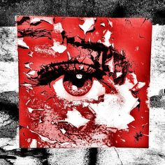street art berlin @ niederbarnimstr. - photo by ironwhy - artist @pamgood2 #eye #streetart #watchingyou #red #iseeyou #redeye #staringatyou #bigbrotheriswatching #allseeingeye #berlin #streetartberlin #urbanart #publicart #streetartistry #mural #grafittiart #graffiti #stencilart #stencil #ironwhy #friedrichshain #niederbarnimstrasse #grünbergerstrasse #stickerart #sticker #pamgood2