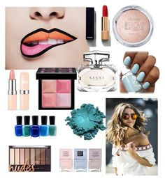 """""""Untitled #159"""" by lalle-mila ❤ liked on Polyvore featuring beauty, Chanel, Gucci, Givenchy, Nails Inc. and Zoya"""