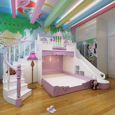 255 Best Kid Bedrooms Castle Princess Themes Images In 2019
