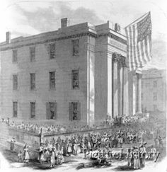 This is the Abraham Lincoln School in New Orleans. It was one of the largest of the 4,000 schools created in the South by the Freedman's Bureau.