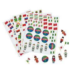 Kids Around the World Shapes - OrientalTrading.com