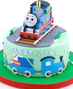 'Thomas the Tank Engine' Cake
