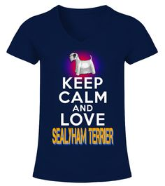 """# Keep Calm Love Sealyham Terrier .  HOW TO ORDER:1. Select the style and color you want2. Click """"Buy it now""""3. Select size and quantity4. Enter shipping and billing information5. Done! Simple as that!TIPS: Buy 2 or more to save shipping cost!This is printable if you purchase only one piece. so don't worry, you will get yours.Guaranteed safe and secure checkout via: Paypal 