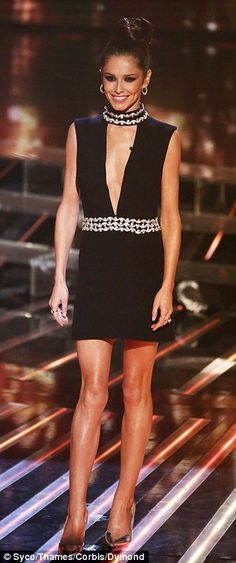 Cheryl Fernandez-Versini and Rita Ora flash their cleavage on X Factor | Daily Mail Online