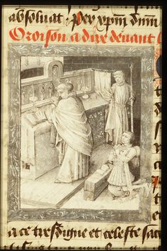Holy Mass attended by Philip the Good, Duke of Burgundy | Follower of Jean le Tavernier