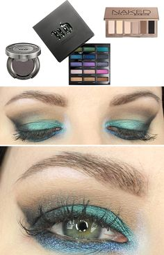 Urban Decay Spectrum Palette Look